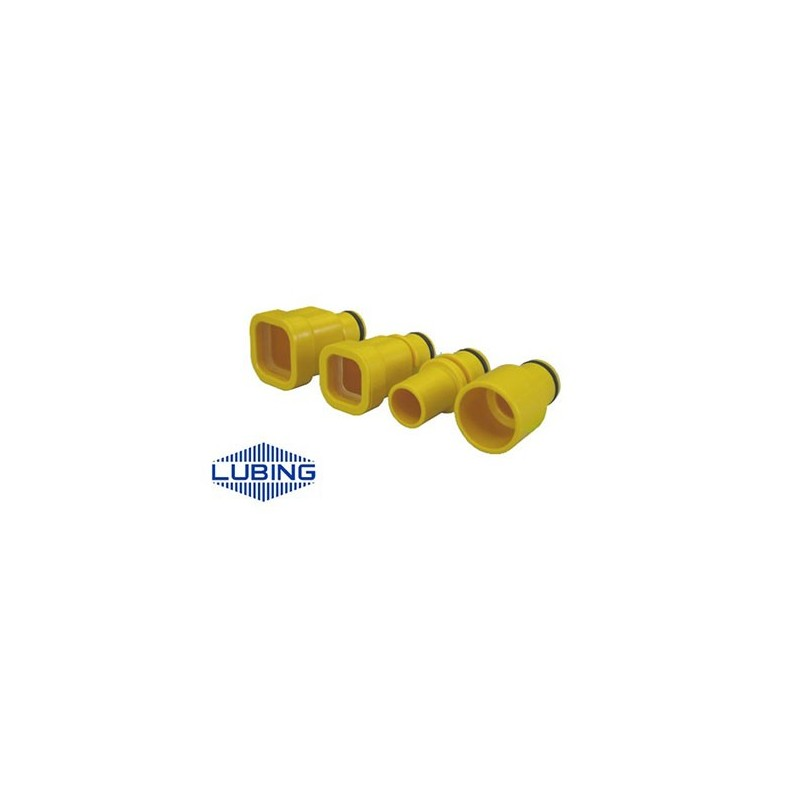 Adaptation tube rond 3/4'' 21 LUBING 3306 Volaille